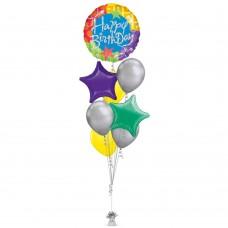 Birthday Circle Balloon Bouquet