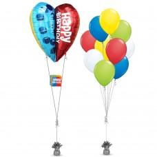 Birthday Hot Air Balloon Bouquet