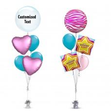 Awesome Bday Zebra Balloon
