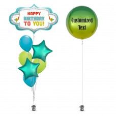 Birthday Marquee Balloon