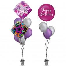 Diva Birthday Balloon