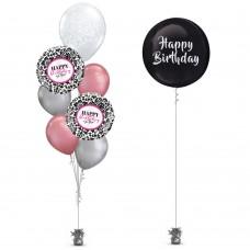 Paisley Birthday Balloon