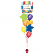 Bright Chevron Birthday