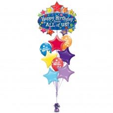 Happy Birthday  Marquee Balloon