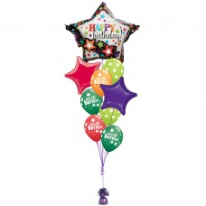 Multi-Balloon Party On Garland