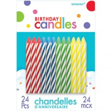 Primary Spiral Candles