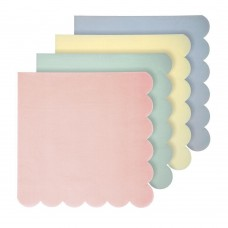 Assorted Pastel Large Napkins