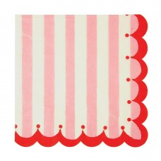 Pink & Red Large Napkins