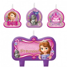 Sofia First Birthday Candles
