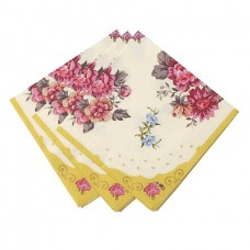 Scrumptious Floral Napkins