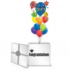 Balloon Graduation Box