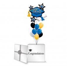 Congrats Grad Blue Cluster