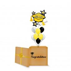 Congrats Grad Yellow Cluster