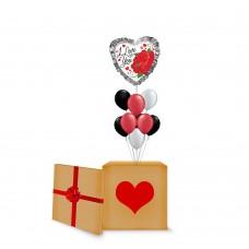 Love You Ruffle Surprise Box