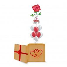 Love Vase Surprise Box