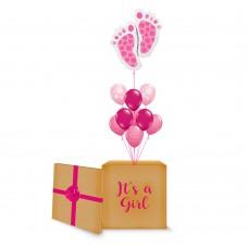 Pink Baby Feet Surprise Box