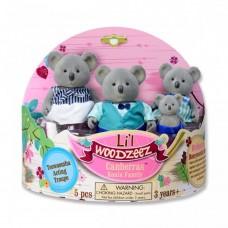 Li'L Woodzeez Koala Family