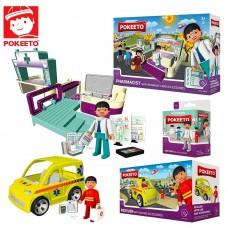 Pokeeto Hospital toys (3 pcs)