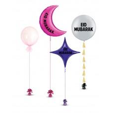 Eid Mubarak Balloons Set 4