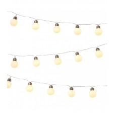 Feeston Lights Battery String Globe Fairy Light