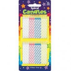 Spiral Candles Value Pack