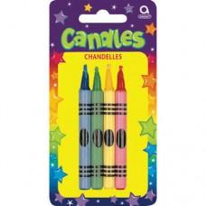Large Crayon Candles