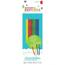 Sparkling Thin Party Candles
