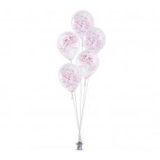 Balloon Confetti Pink