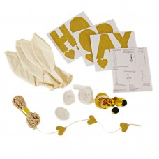 Glittered Balloon Kit