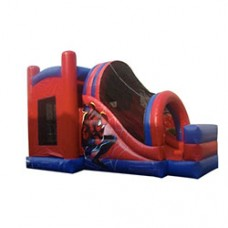 Spiderman Slide and Bouncy