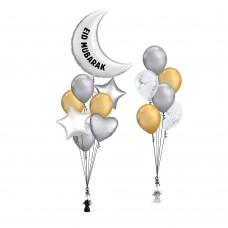 Eid Mubarak Balloons Set 9