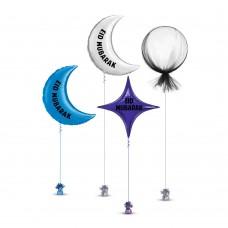 Eid Mubarak Balloons Set 3