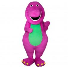 Barney Mascot