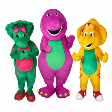 Barney and Friends Mascot