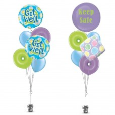 Dotted Get Well Soon Balloon