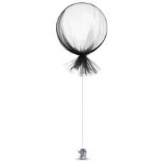 Black Tulle Balloon