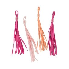 Pink  Party Tassels