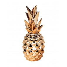 Metallic Pineapple Ornament