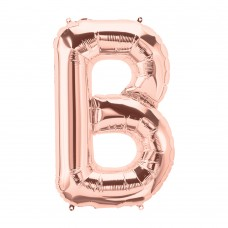 Large Shape Letter B Rose Gold