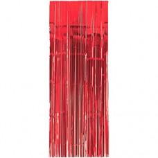 Apple Red Door Curtain