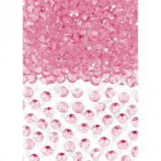 Bright Pink Confetti Gems