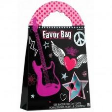Rocker Girl Party Favor Bags
