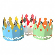 Colored Party Crowns