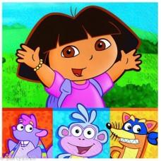 Dora The Explorer Napkins