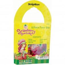 Strawberry Shortcake Favor Box