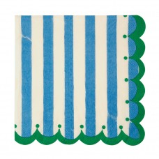 Blue Stripe Large Napkins