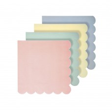 Assorted Pastel Small Napkins