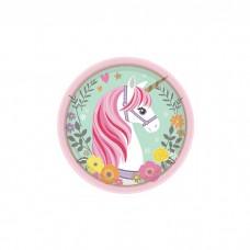 Unicorn Dessert Party Plates