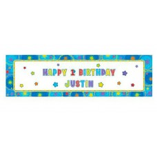 One-derful Boy Personalize Banner