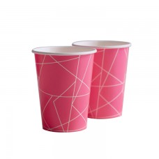 Hot Pink Neon Cups
